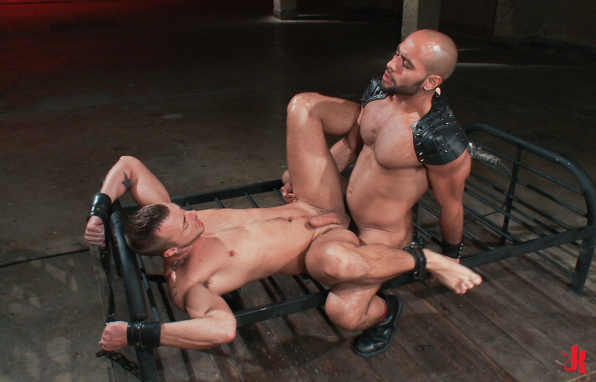 Bound Gods - Gay Master With Leather Pants And Big -4075